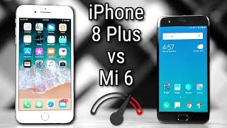 iPhone 8 Plus vs Xiaomi Mi6 Speedtest Comparison - Can it?
