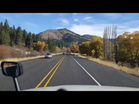 BigRigTravels US 97 North in Washington(part 1)-Going over Blewett Pass-Oct. 31, 2017