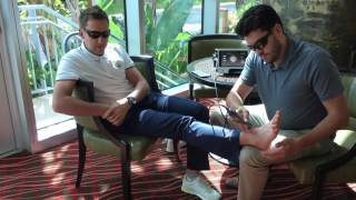 Ian Poulter Rehabs with LightForce Laser Therapy
