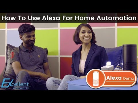 Amazon Alexa Smart Home Automation Demo | Alexa Amazon Echo Setup