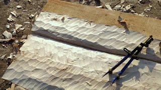видео Деревянный забор из необрезной доски: советы и рекомендации по монтажу
