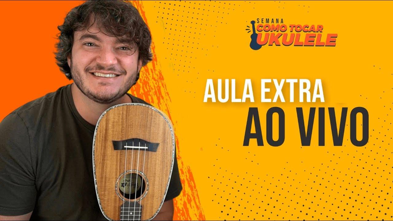 AULA EXTRA - COMO FAZER DEDILHADOS NO UKULELE | Semana Como Tocar Ukulele