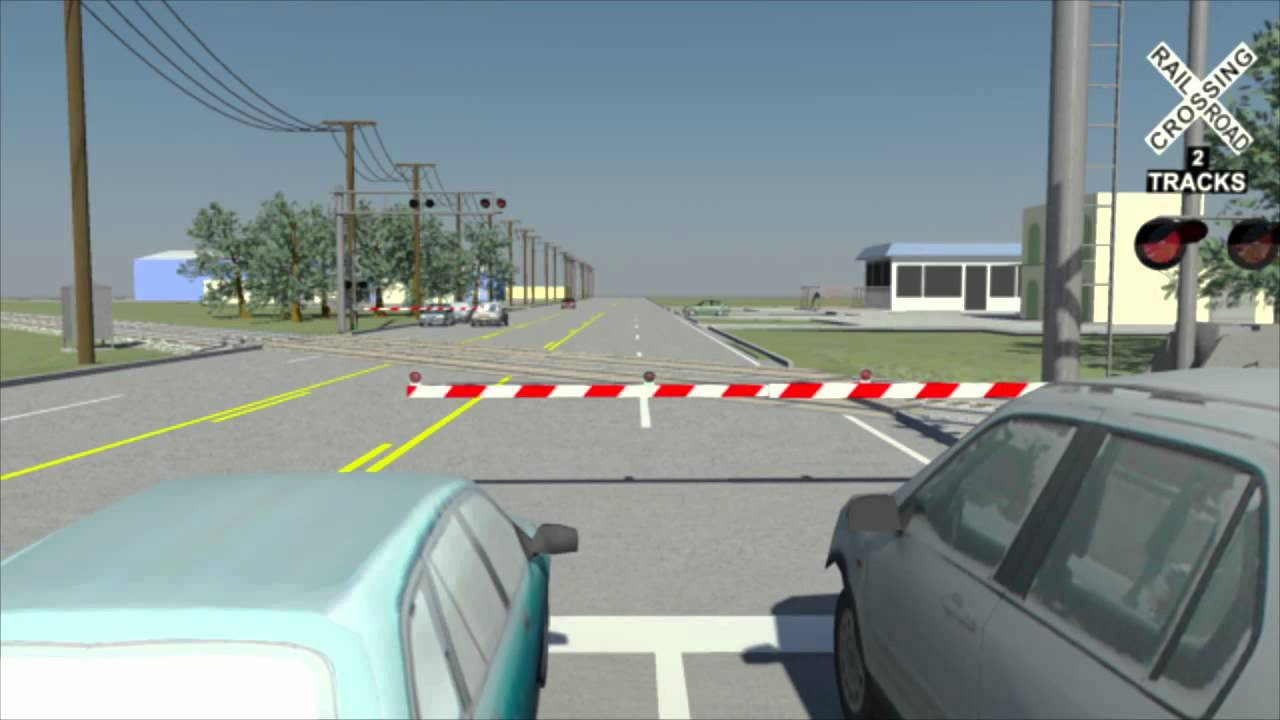 Railroad Crossing Accident Reconstruction Animation Youtube