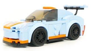 Sluban car club M38-B0633A blue racing car