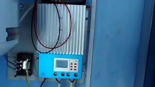Солнечная электростанция у меня дома.(Если,кому интересно,решил продать http://avito.ru/350234273., 2014-07-07T08:43:12.000Z)