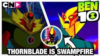 Ben 10 Reboot Season 3 Kevin 11 Thornblade Transformation Analysis + Swampfire In Reboot