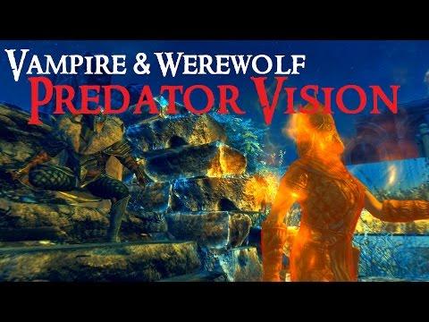 SKYRIM (Special Edition) MOD : Predator Vision | PC & XBOX 1