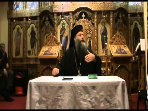 Protosinghel Augustin Dragomir, Manastira Jiana-conferinta Gijon/Spania 09.02.2014
