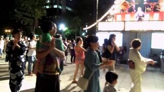 Hokkai Bon Odori in Odori 2 Chome Aug, 15 2014