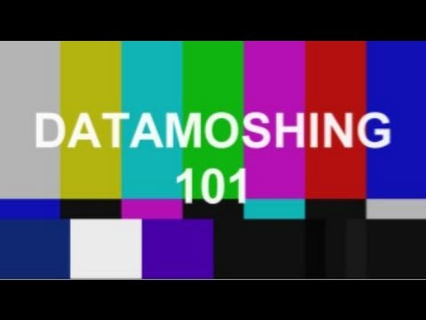 How to datamosh in 8 minutes or less!