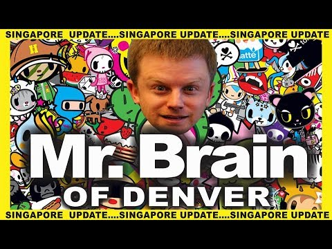 Mr Brain... Singapore responds to the international incident that happened last month