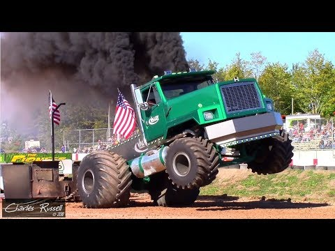Semi/Truck/Tractor Pulls! Over The Top Diesel Showdown - Session 1