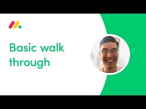 Basic walk through