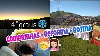 Reforma, Comprinhas na loja de 1 real e nossa rotina   Tati Barbosa