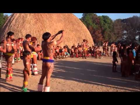 Isolated Amazon Tribe: Xingu Indians Of The Amazon Rainforest Brazil 2016 (Documentary)