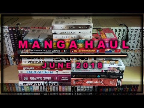 Manga Haul | June 2018 | Sustain the Industry