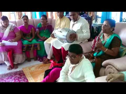 Puja and Kirtan at Raojee family Home Palma - performed by Cahannac Group