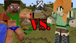 Sister VS Brother Minecraft How to turn a Noob into a Pro