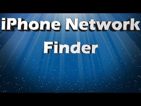 iPhone Network Finder