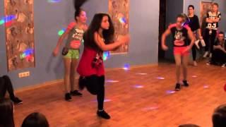 Hip-hop improvisation solo - детский танцевальный конкурс