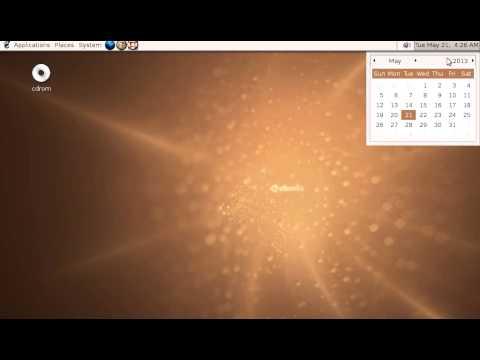Linux History - Ubuntu 5.04 Live CD