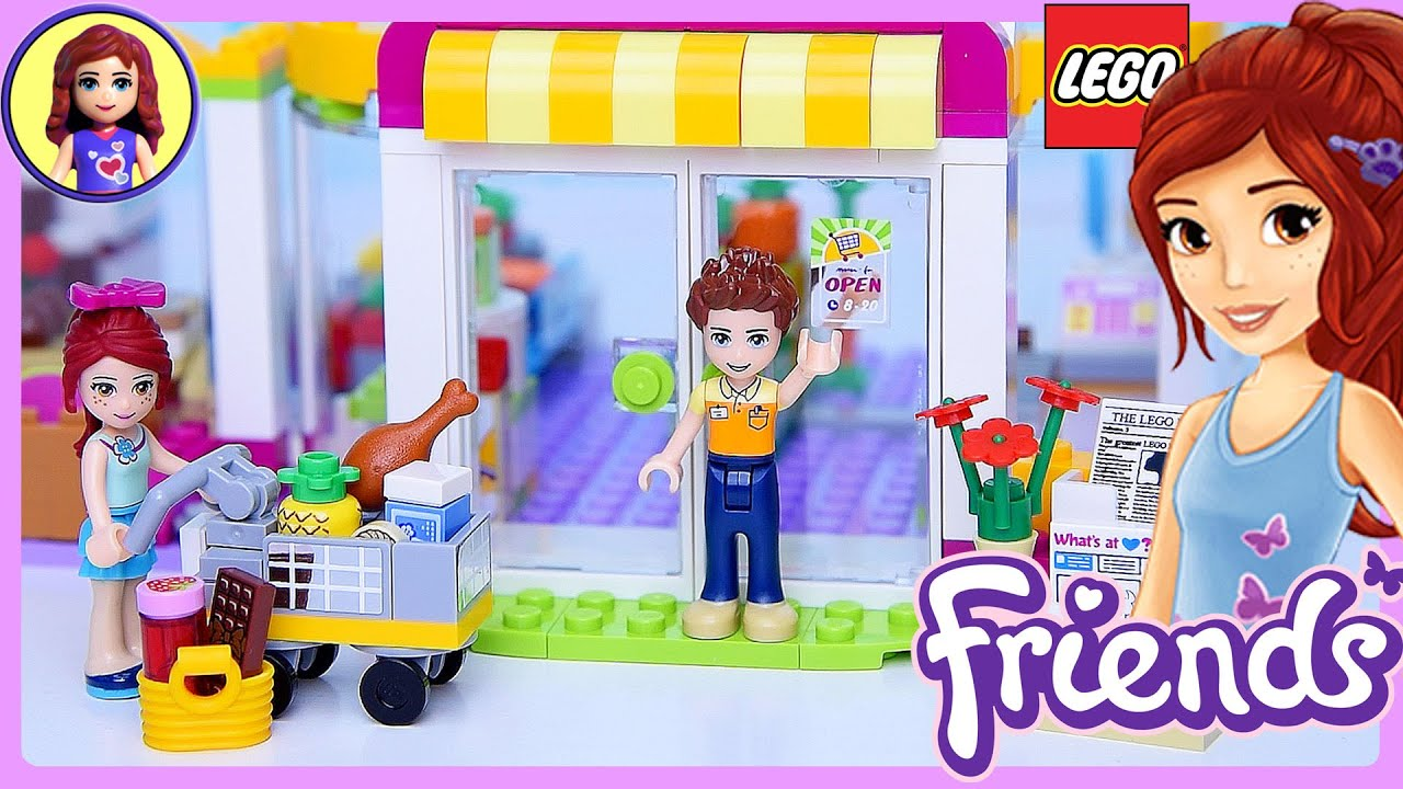 Lego Friends Heartlake Supermarket Set Build Review Play Kids Toys