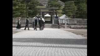 明治天皇陵での 明治天皇祭 2006年7月30日.