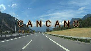 CANCANO Teil 1 - Anfahrt über Flüela und Ofenpassstrasse
