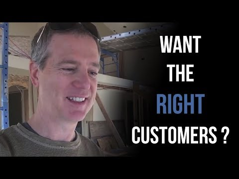 If you want the RIGHT customers, ask this question - Jeff Walker