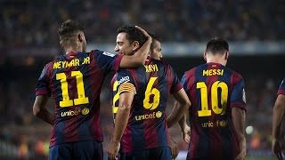 FC Barcelona vs SD Eibar FULL MATCH 18-10-2014