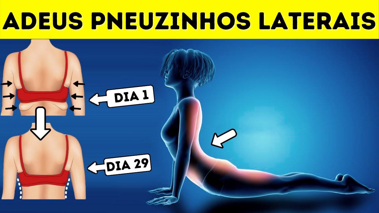 7 Exercícios Fáceis Para Reduzir os Pneuzinhos Laterais Rapidinho (30 Dias)
