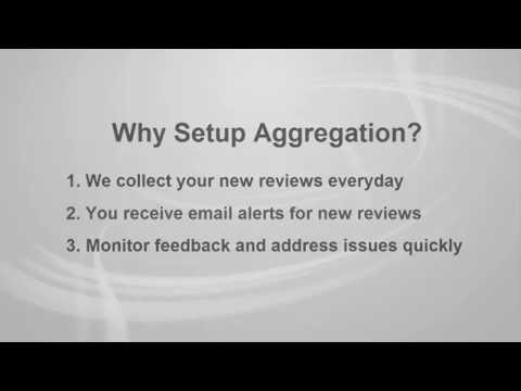 Review Management - Setup Review Aggregation