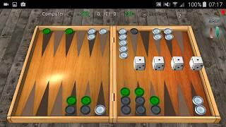 Backgammon Reloaded 3D demo 1