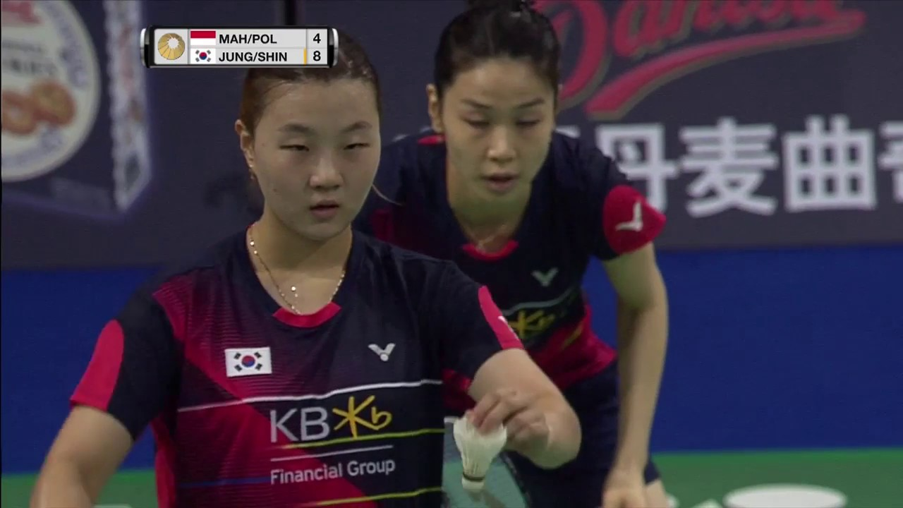 Download Yonex Denmark Open 2016 | Badminton SF M2-WD | Mah/Pol vs Jung/Shin