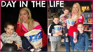 AD JACKSON'S FIRST TRIP TO THE CINEMA!  DAY IN THE LIFE VLOG