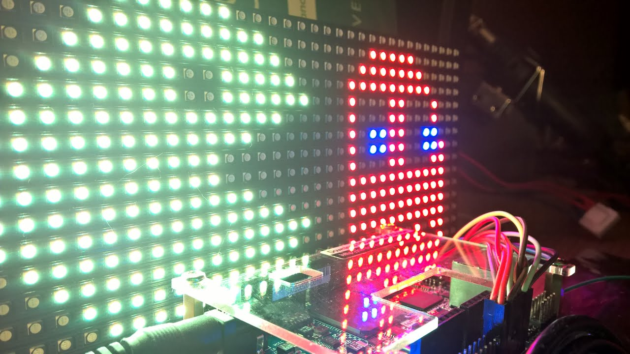 Tutorial: Driving 16x32 RGB LED matrix with DE0-Nano-SoC FPGA board