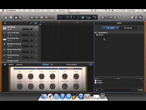 103 How To Import An Audio File Into GarageBand