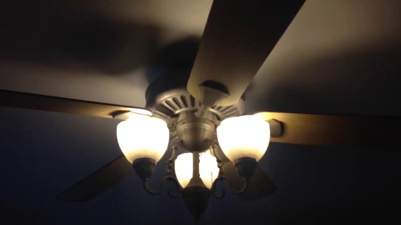 52 Quot Hampton Bay Cameron Ii Plus Ceiling Fan Youtube