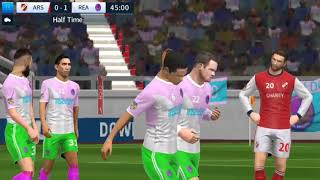Real Madrid vs Arsenal Dream League Soccer 2018 Android Gameplay #109