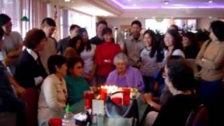 Grandma's Birthday song