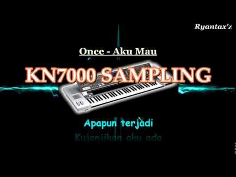 Karaoke Once - Aku Mau ( tanpa vokal )