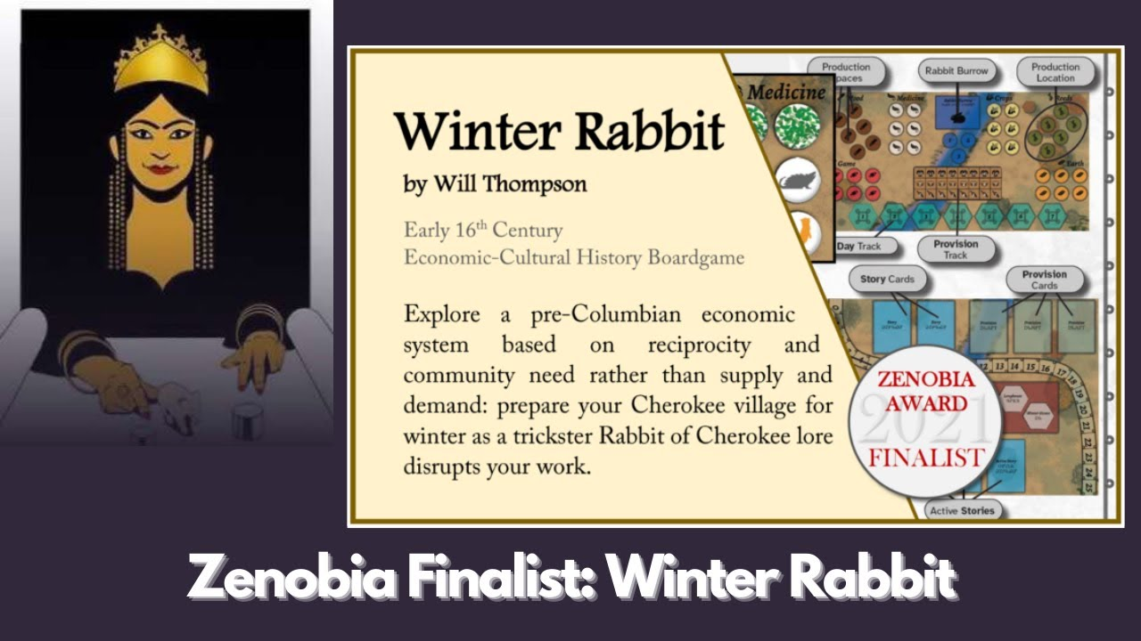 Zenobia Finalist: Winter Rabbit by Will Thompson
