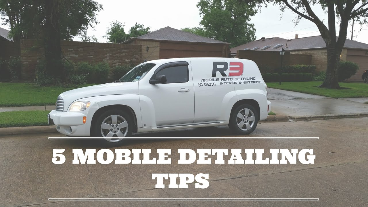 5 Mobile Car Detailing Business Tips - YouTube