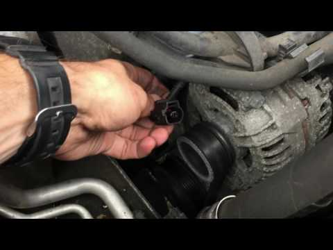How to replace Oil pressure switch in vw Tiguan
