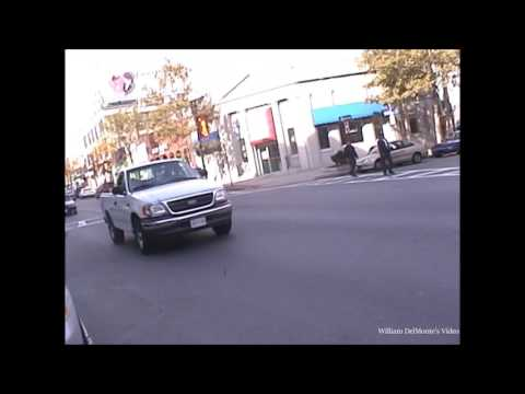 Middle Of Quincy Square  Filmed on October 17, 2004
