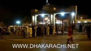 HAZARAT ABDULLAH SHAH GHAZI MAZAR IN KARACHI CLIFTON NEAR DHA DEFENCE KARACHI PAKISTAN