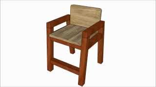 How To Build A Kids Chair