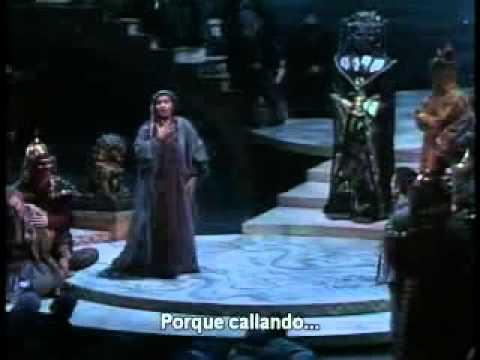 Leona Mitchell - Tanto amore segreto... Tu Che di Gel sei cinta (Subtitulado)