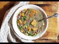 HARDY VEGAN SWEET POTATO DUMPLINGS - CHICKEN OF THE WOODS AND BEAN SOUP   Connie's RAWsome kitchen