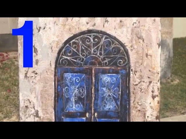 رسم الأبواب القديمة بأبسط الطرق جزء 1 إيمان المغربي Youtube
